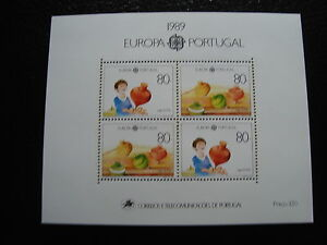 PORTUGAL-timbre-yvert-et-tellier-europa-bloc-n-65-n-stamp-portugal