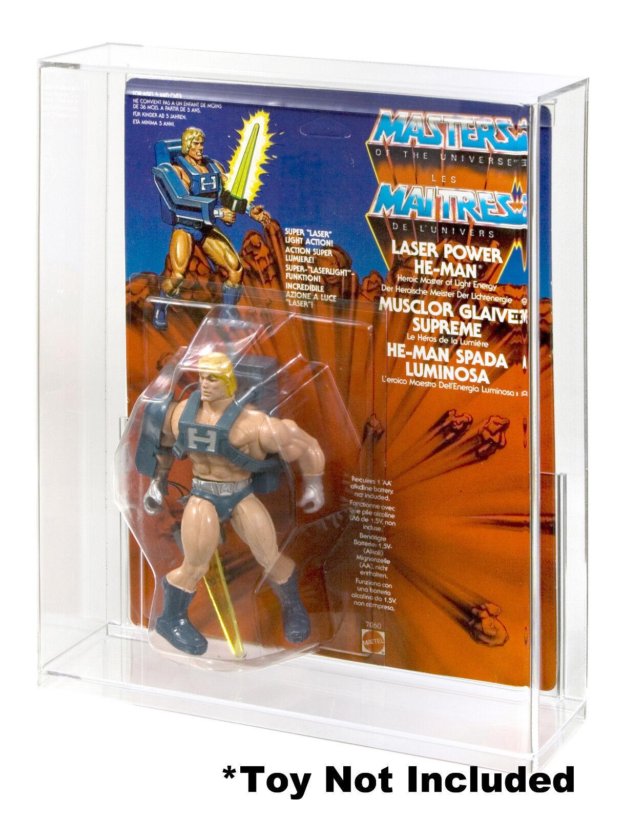 MOTU Deluxe Carded B Acrylic Display Case