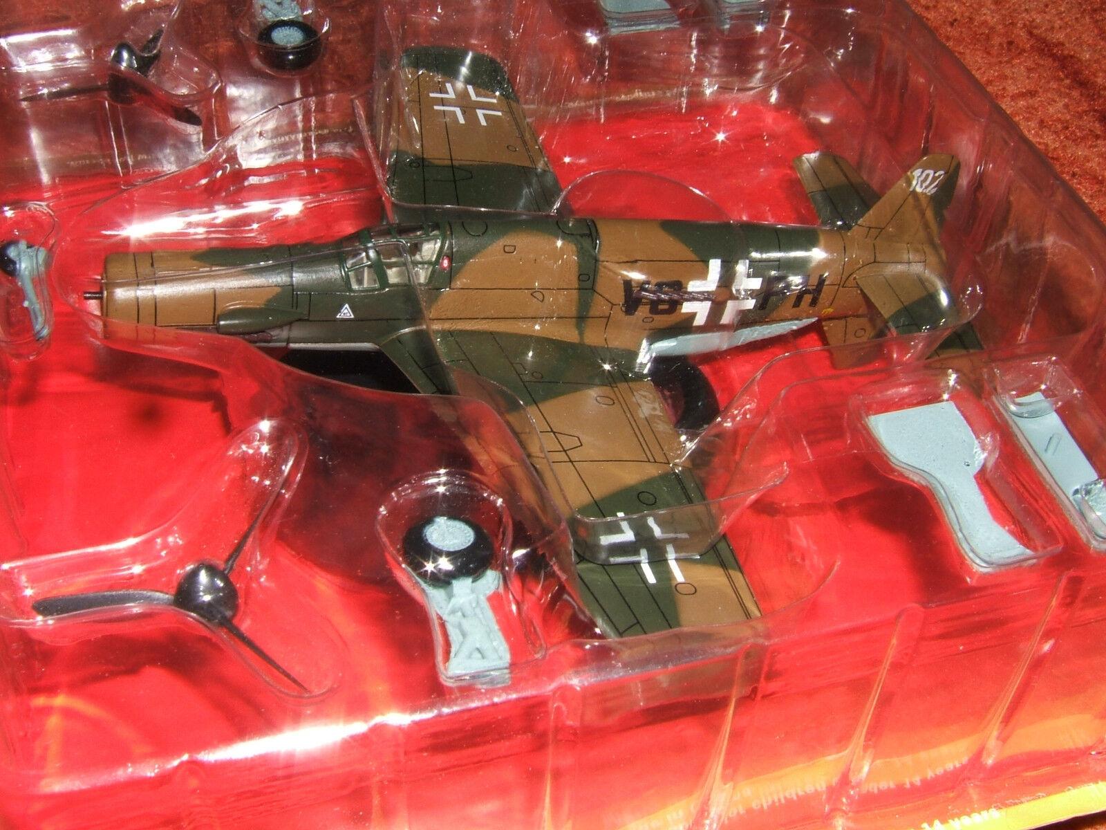 Dornier do-335 a-02 vg + ph ein diecast modell luftwaffe modell druckguss ixo 1 72 metall