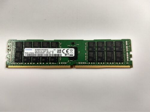 SAMSUNG MICRON HYNIX KINGSTON 32GB 2RX4 DDR4 19200 PC4-2400T-R SERVER MEMORY RAM