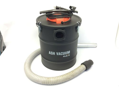 Cleva Ash Vacuum EAT606S 0603 Used Black Working 120v 60hz Made in USA