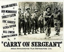 CARRY ON SERGEANT 1959 William Hartnell, Bob Monkhouse UK 10x8 LOBBY SET