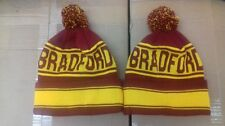 Bradford City Pom Pom Gorro. el Bantams