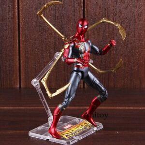Marvel Spider-Man Spiderman Action Figure Avengers Infinity War Iron Model Toy