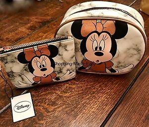 Image is loading Minnie-Mouse-MAKE-UP-BAG-Minnie-Mouse-PURSE-