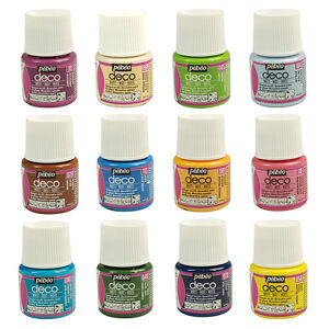 Pebeo-Deco-MATT-Multi-Surface-Craft-amp-DIY-Acrylic-Paint-45ml