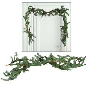 Fir-Garland-Christmas-2-7m-Maypole-Decoration-Door-Green