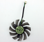 EVERFLOW T128010SH 0.25A 4pin diameter 75MM hole 4MM graphics card fan