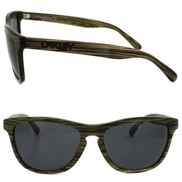 Sol Oo204309 De Cinta Gafas Frogskins Gris Verde Oakley Lx EeDHY9IW2