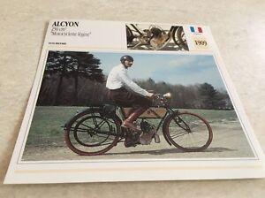 Stecker-Motorrad-Sammlung-Atlas-Motorrad-Karte-halcyon-250-1909-Motorrad-leicht