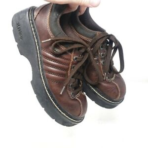 vintage skechers sneakers 1990s womens brown chunky