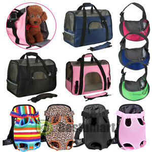 Pet-Carrier-Soft-Sided-S-L-XL-Cat-Dog-Comfort-Travel-Bag-Oxford-Airline-Approved