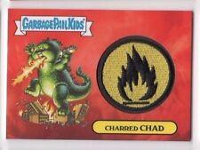 2017 Garbage Pail Kids Adam-Geddon patch 3b Charred Chad 30/50
