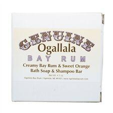 Ogallala Bay Rum Sweet Orange Bath Soap and Shampoo Bar