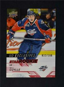 2018-19-UD-Upper-Deck-CHL-Star-Rookies-Exclusives-322-Will-Cuylle-100