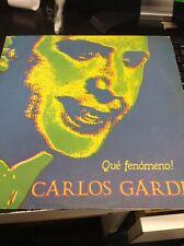 Carlos Gardel Que Fenomeno! Emi Uruguay Lp Xld 42680