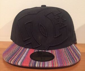 9ca0b82e DC Shoes Coverage Black & Multi New Era 59FIFTY Fitted Cap Hat $35 ...