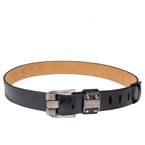 Thick Genuine Leather Handmade Leather BeltMen/'s Black Brown Vintage Casual