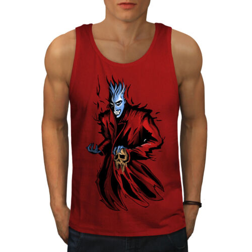 Vampire Active Sports Shirt Wellcoda Death Apocalypse Mens Tank Top