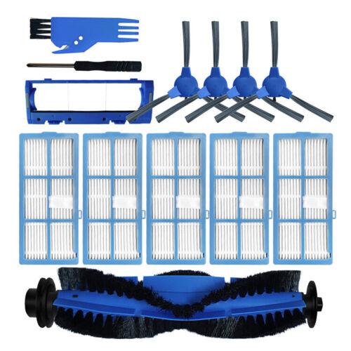 Main Side Rolling Brush Filter Hepa Brush Guard for Bagotte BG600 Vacuum Cleaner