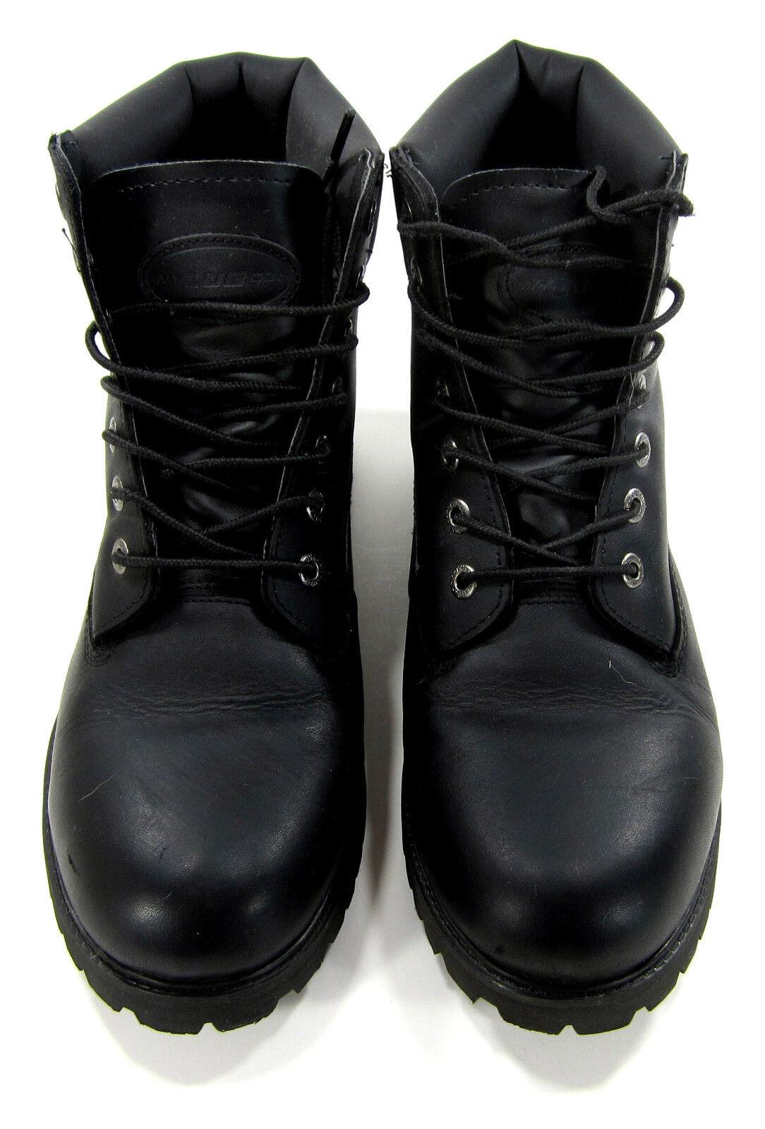 aa5b5bf6e2d Lugz Lugz Lugz Boots Drifter 6 Inch Leather Black Shoes Size 11 ...