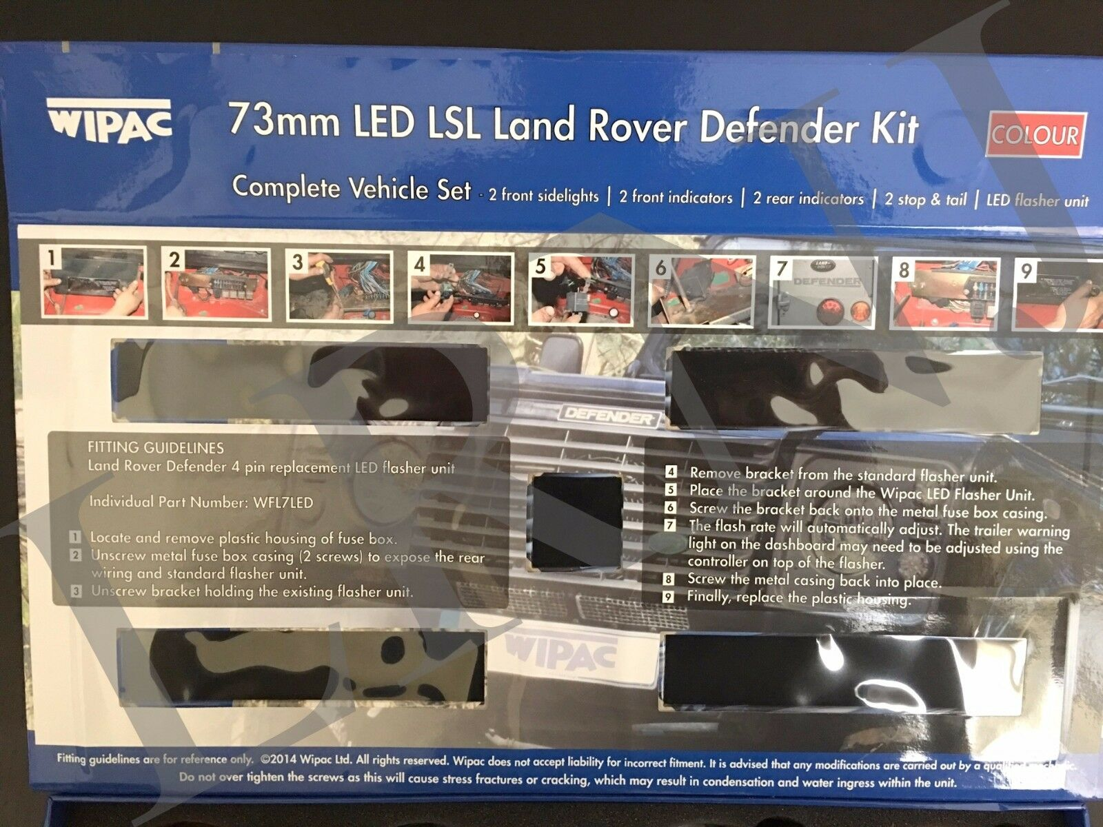 Defender Fuse Box Ebay Wiring Diagram Libraries Where Is Land Rover Best Books Resourcesland Britpart Wipac Led Upgrade Lamps Kit 73