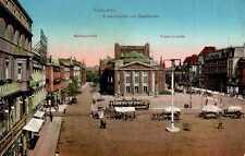 AK GRUSS da superiore Slesia a Katowice Friedrichstr rathausstr Friedrich spazio 1915