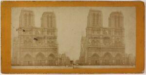 Notre-Dame-De-Paris-Francia-Foto-Stereo-PL53L4n41-Vintage-Albumina-c1880