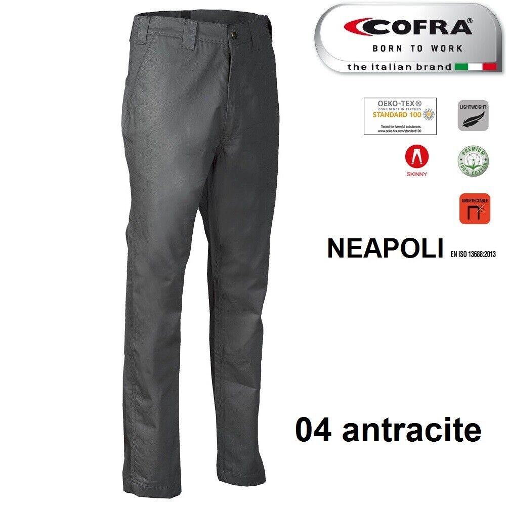 Immagine 9 - Pantaloni da lavoro COFRA modello NEAPOLI edilizia industria logist 100% cotone