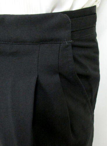 """Lot of Black 100/% Wool Tuxedo Pants with Satin Stripe Prom Resell 30-32/"""" Waist"""
