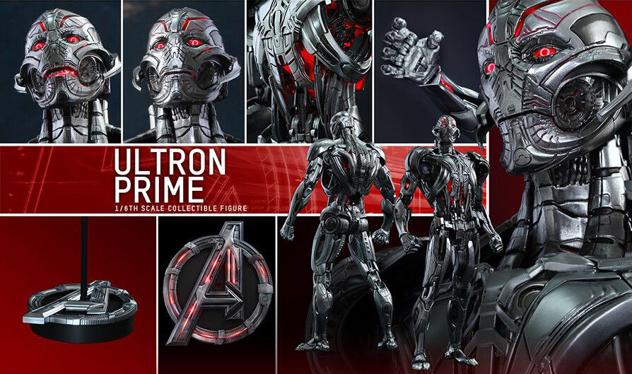 Hot Toys Avengers Age of Ultron MMS284 Ultron Prime 1 6th Scale Action Figure
