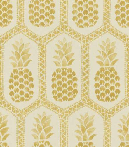 Barbara Becker Wallpaper BB HOME PASSION Pineapple Cream Gold 862102 3,26 £//1qm