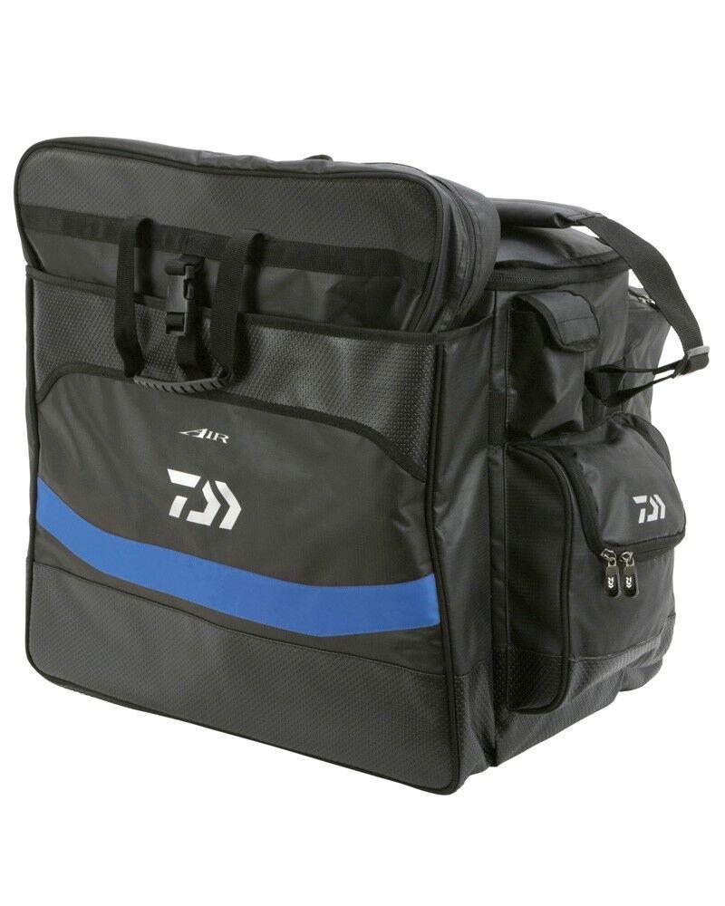 Daiwa aire completa Carryall Negro y Azul Nuevo Grueso Bolsa de aparejos de pesca