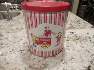 Rare Vintage Popcorn, Ice Cream, Cotton Candy  Tin Collectors Limited Edition
