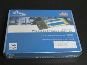 AIRLINK 802.11 A/B/G WIRELESS CARDBUS PC CARD DRIVERS