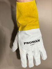 Welder Gloves Proman Psalm1 Welding Gloves Migtig Leather Safety Glove New