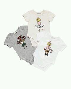 35b61a12e NWT NEW Gucci baby girls sport 1 bodysuit 0/3 3/6 6/9 or 9/12m ...