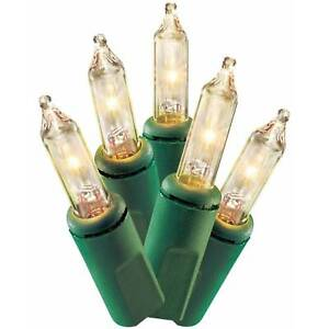 holiday time 300 mini clear christmas lights