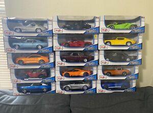 Maisto Diecast Escala 1:18 Edición Especial-varios modelos de automóviles!!!! envío Gratuito!!!
