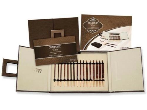 :Symfonie Rose Interchangeable Needle Set: Brand new Knitter/'s Pride