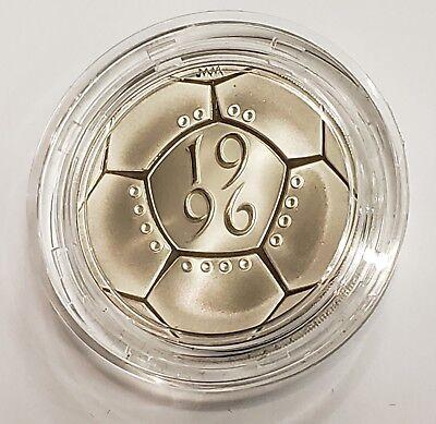 1996 United Kingdom Silver Proof £2 Coin A Celebration of Football w//Box /& COA