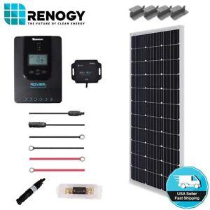 Renogy-100W-12V-Mono-Solar-Panel-Premium-Kit-Off-Grid-System-20A-MPPT-Controller