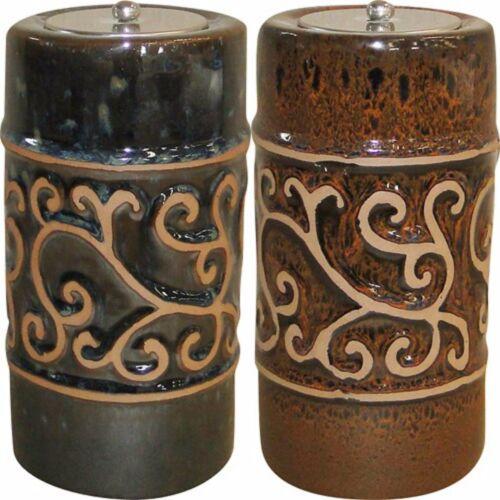 """Etruscan Ceramic Fire Pot 9/"""" H 215040-09"""