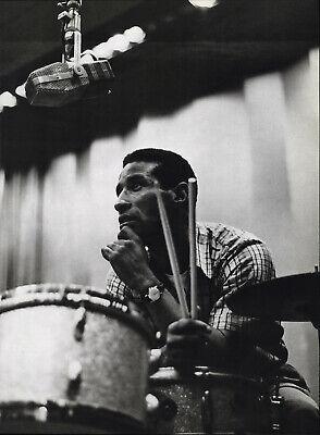 """JAZZ photo 16/""""x11/"""" Charlie Parker,Potter /& Max Roach Three Deuces Miles Davis"""