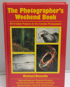 Photographer's Weekend Book 101 Creative Projects1982 Book - English - USED F17