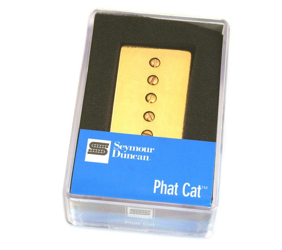 Seymour Duncan SPH90-1B Phat Cat Gold Bridge Pickup 11302-16-GC