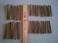 "antique 10 square 4"", 20 square 3"" nails vintage rustic patina"