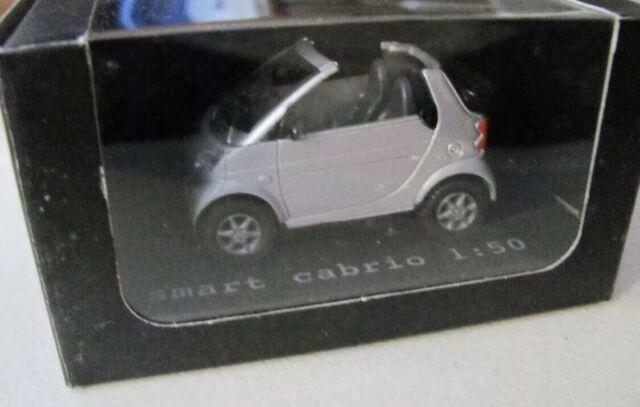 Smartware Collection 1:50 Smart Fortwo 450 Cabrio OVP siku super