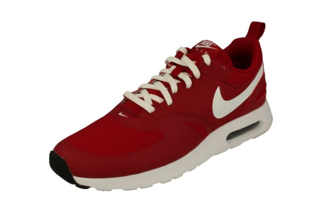 47a1546592 Nike Air Max Vision Mens 918230-600 Red White Athletic Running Shoes ...