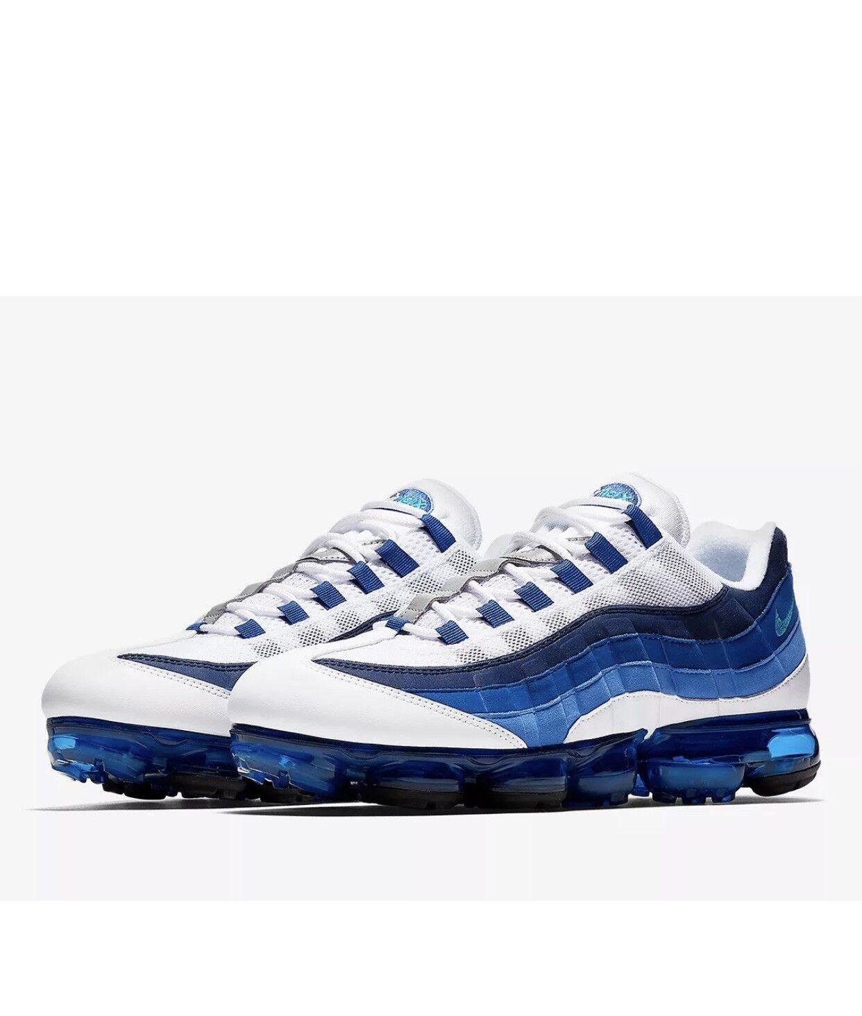 Nike Air VaporMax 95 francese Blu Bianco UK9